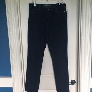 Lands' End Women's Jeans, size 14T, Straight Leg